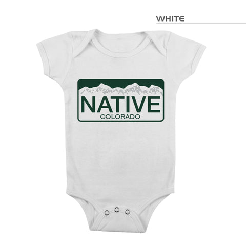 Colorado Native Baby One Piece Romper