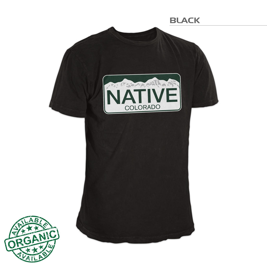 Classic Colorado Native Shirt – Black