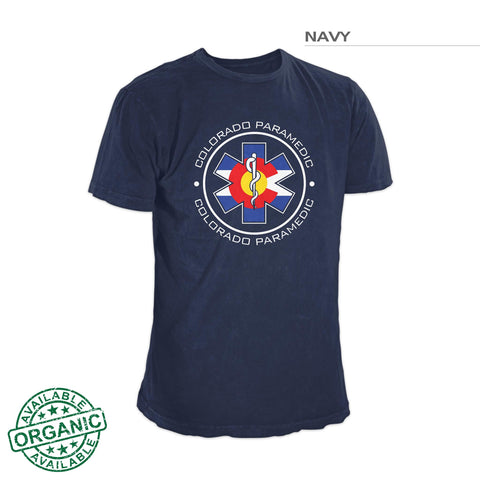 One-Sided Colorado Flag Paramedic Shirt