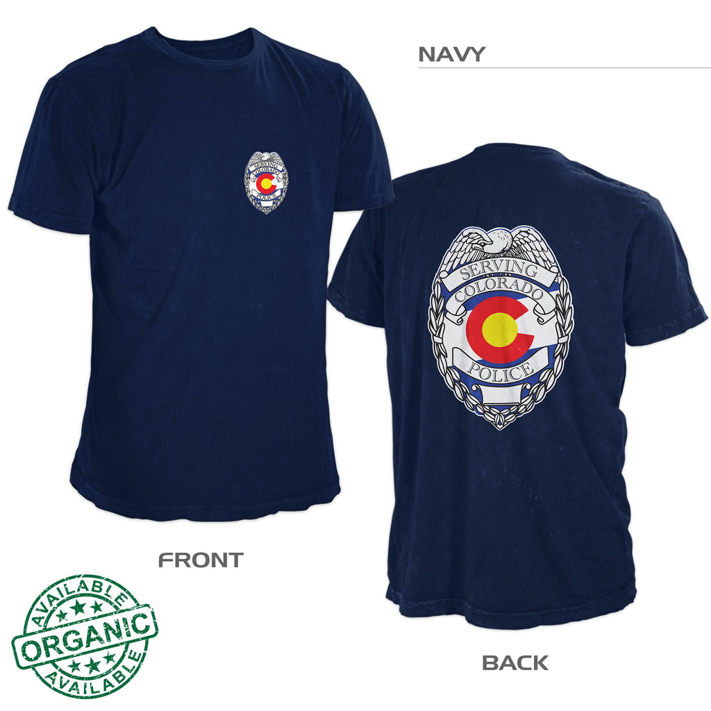 Colorado Police Shirt – Navy Blue