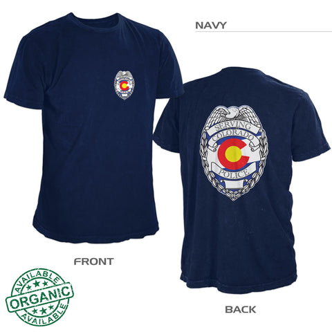 Colorado Police Shirt – Double Sided