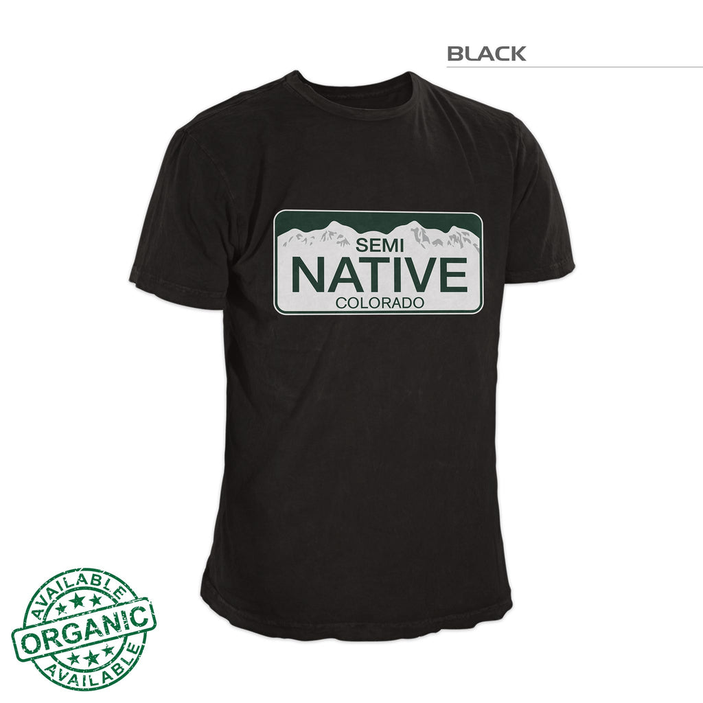 Colorado Semi Native Shirt – Black