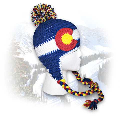 Colorado Flag Sherpa Hat