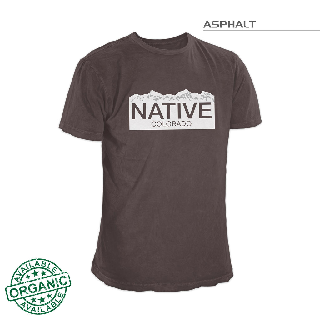 Colorado Native Shirt – Asphalt