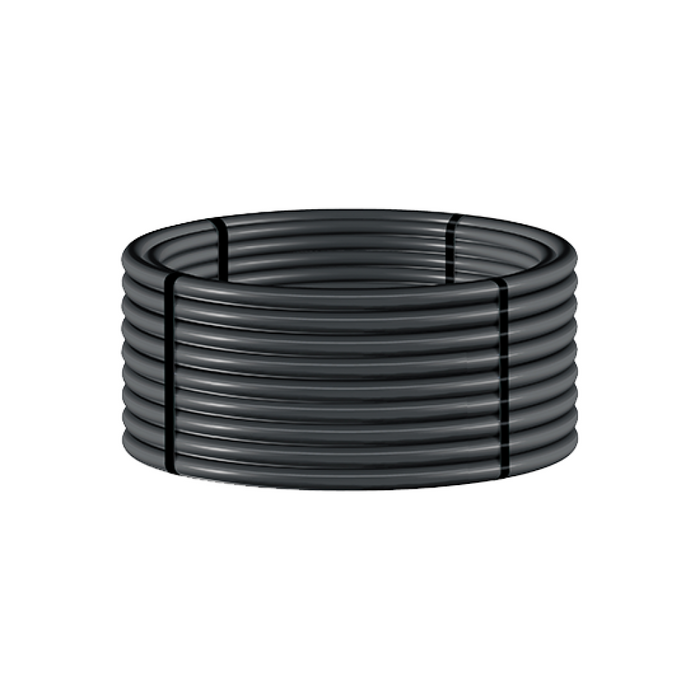 50mm Medium Density Polyethylene Pipe, 100 meters per roll