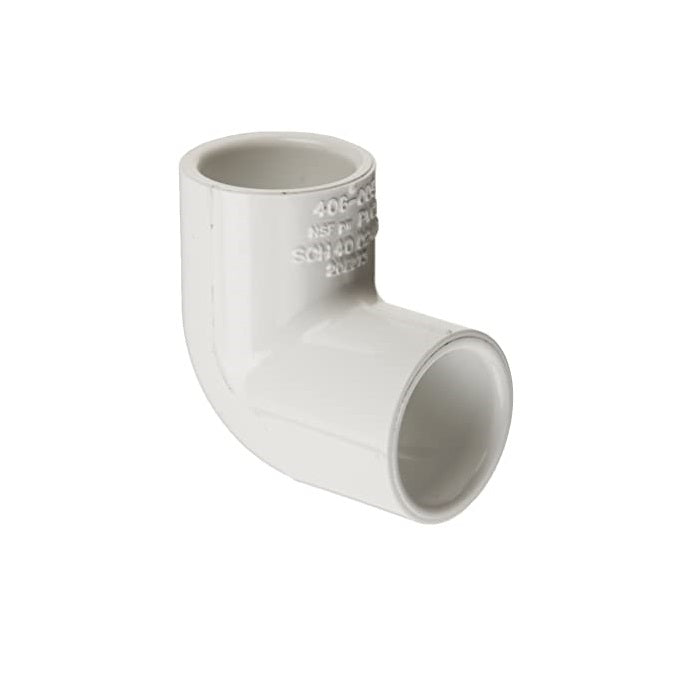 Spears 400 Series PVC 90 Degree Plain Elbows