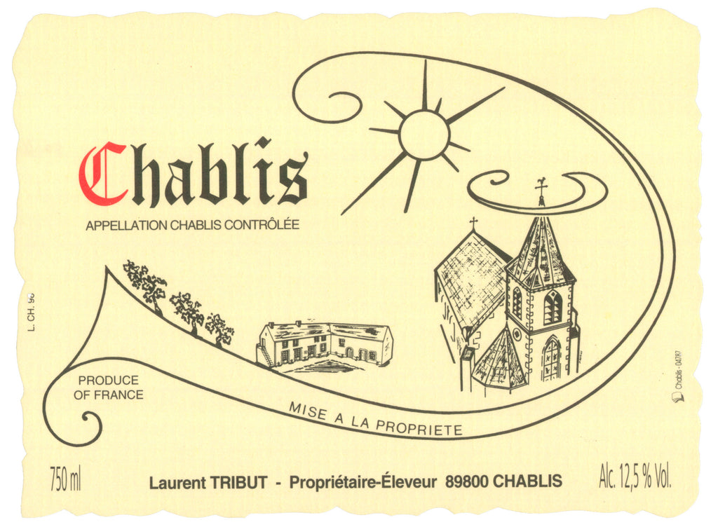 Laurent Tribut Chablis 2016