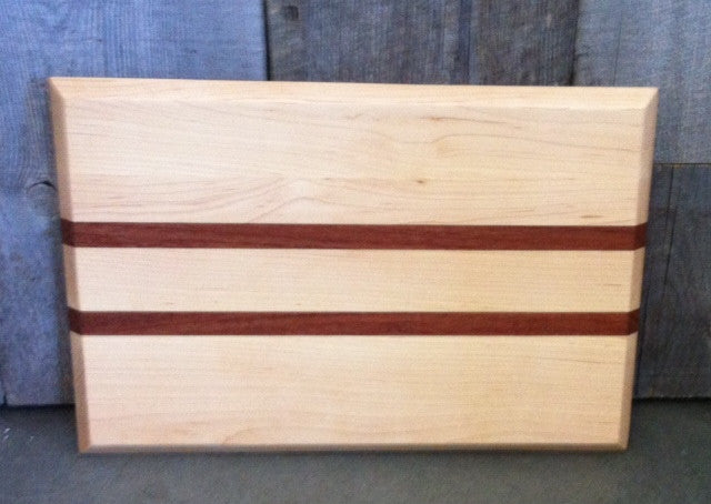 "Handcrafted Cutting Board- 15"" x 10"" Beveled"