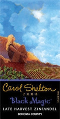 Carol Shelton Black Magic Late Harvest Zinfandel