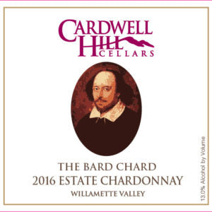 "Cardwell Hill Cellars ""The Bard Chard"" 2017"