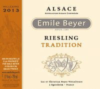 Domaine Emile Beyer Riesling Traditional 2014