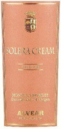 Alvear Solera Cream Sherry