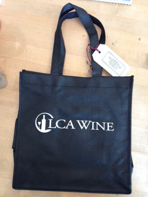 1LCA Wine Black Bag