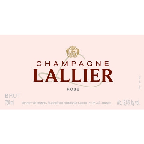 Champagne Lallier Grand Cru Rose NV