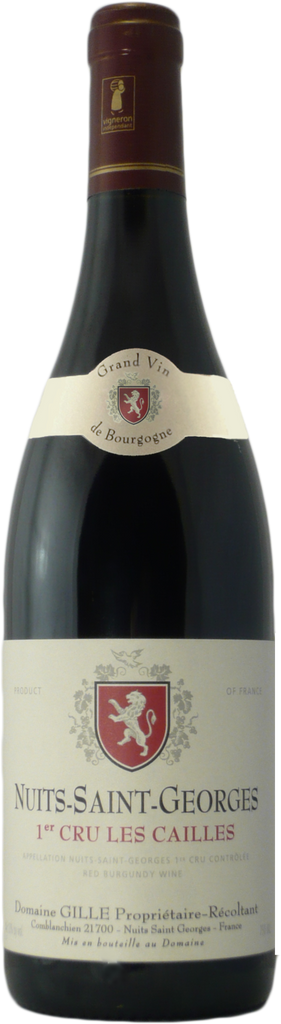 Domaine Gille Nuits St Georges 1er Cru Les Cailles 2012