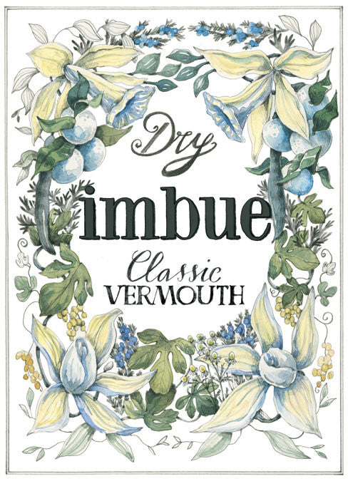 Imbue Classic Dry Vermouth