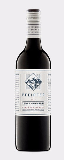 "Pfeiffer ""Three Chimneys"" Cabernet-Merlot 2013"