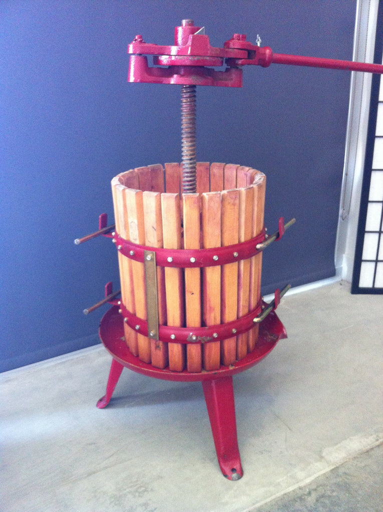 Wine Press Rental