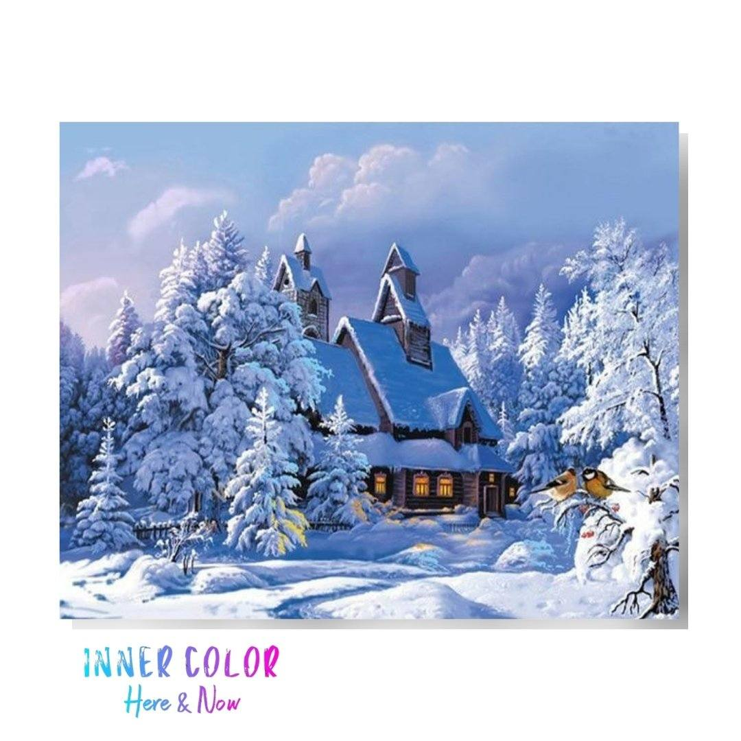 """Alone in the Woods"" Paint by Numbers - Inner Color™ Inner Color"