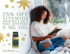 25% Off Sitewide + Spend $35, Get A Free Mystery 5 ml Oil