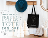 Today's Deal: Spend $50, Get A Free EG Holiday Tote + 20% Off Everything Else Sitewide
