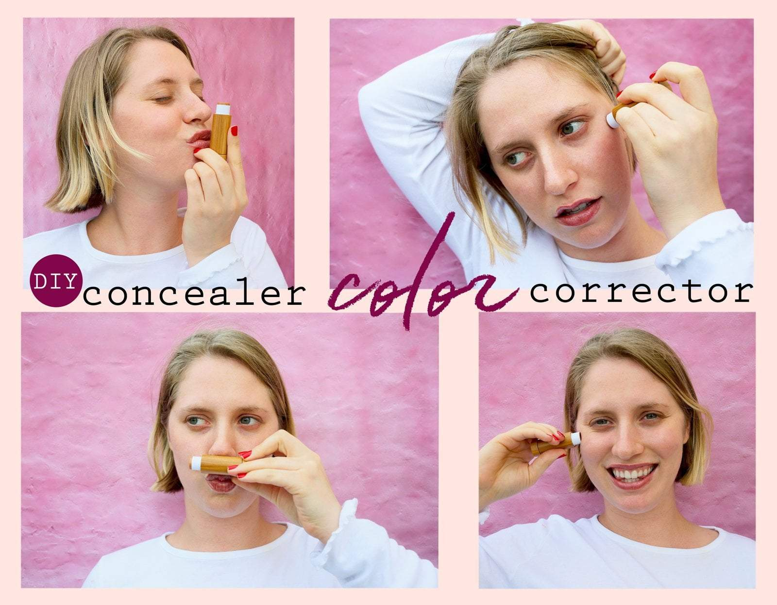 DIY Concealer Color Corrector With Essential Oils