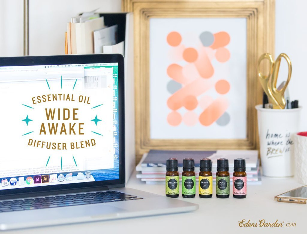 Wide Awake Essential Oil Diffuser Blend Recipe