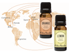 Travel Abroad With Lemon & Orange Around The World Oils