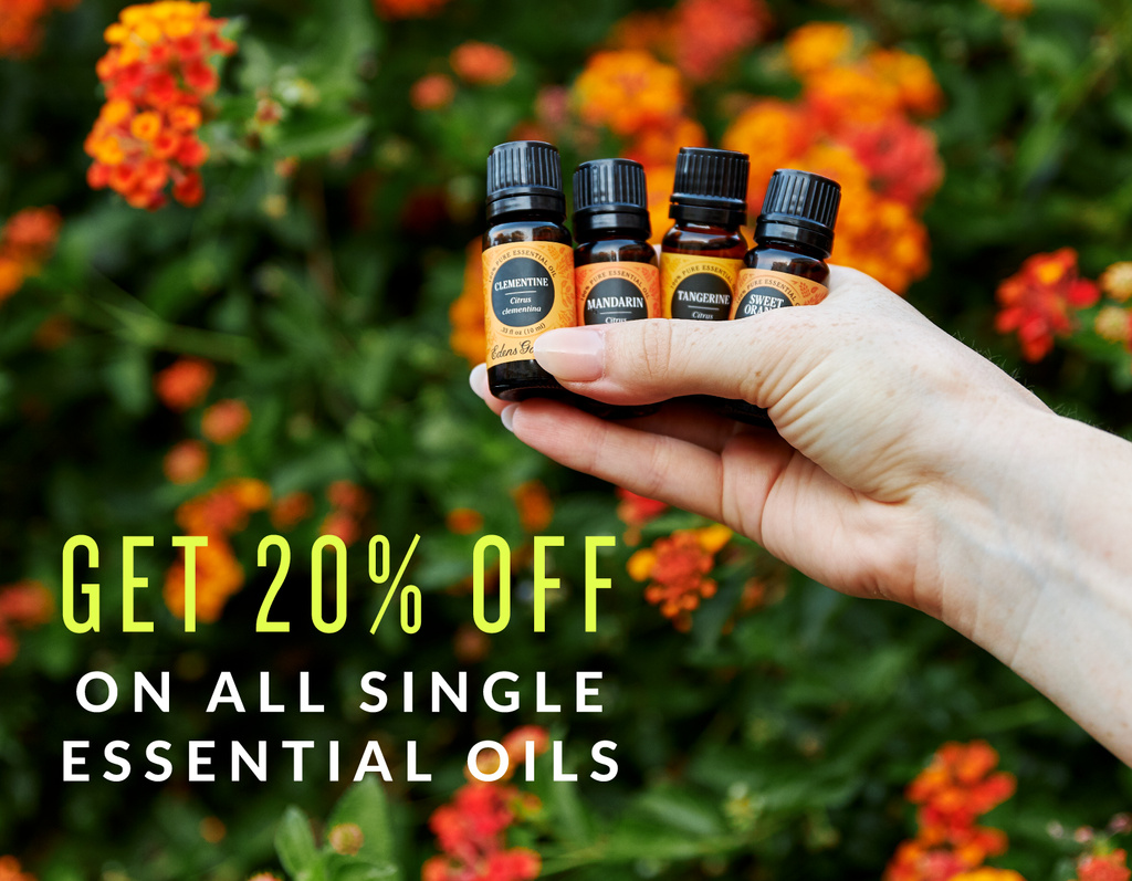 20% Off All Single Oils (6/20)