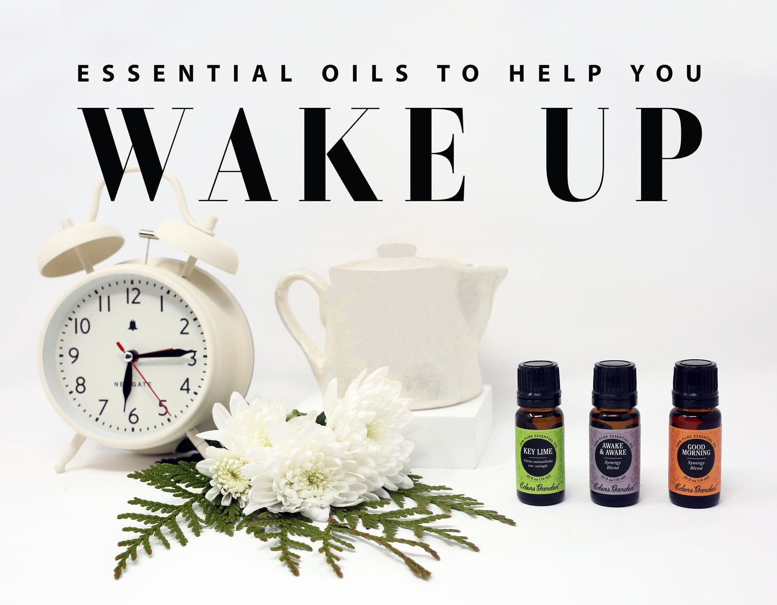 Essential Oils To Help You Wake Up