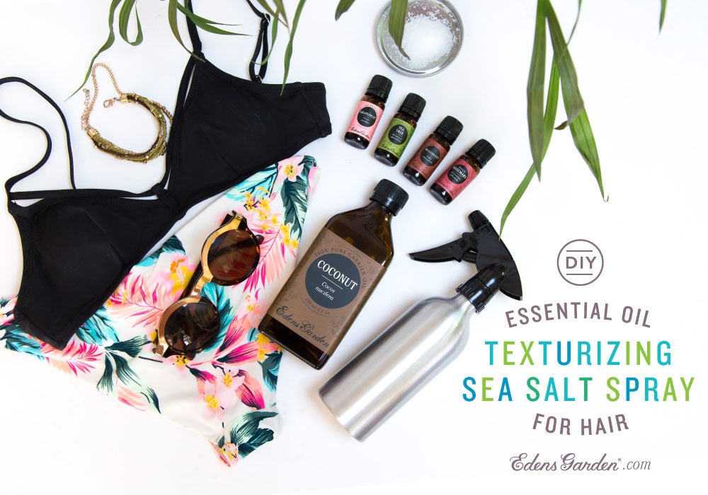 Edens Garden Essential Oil Texturizing Sea Salt Spray for Hair