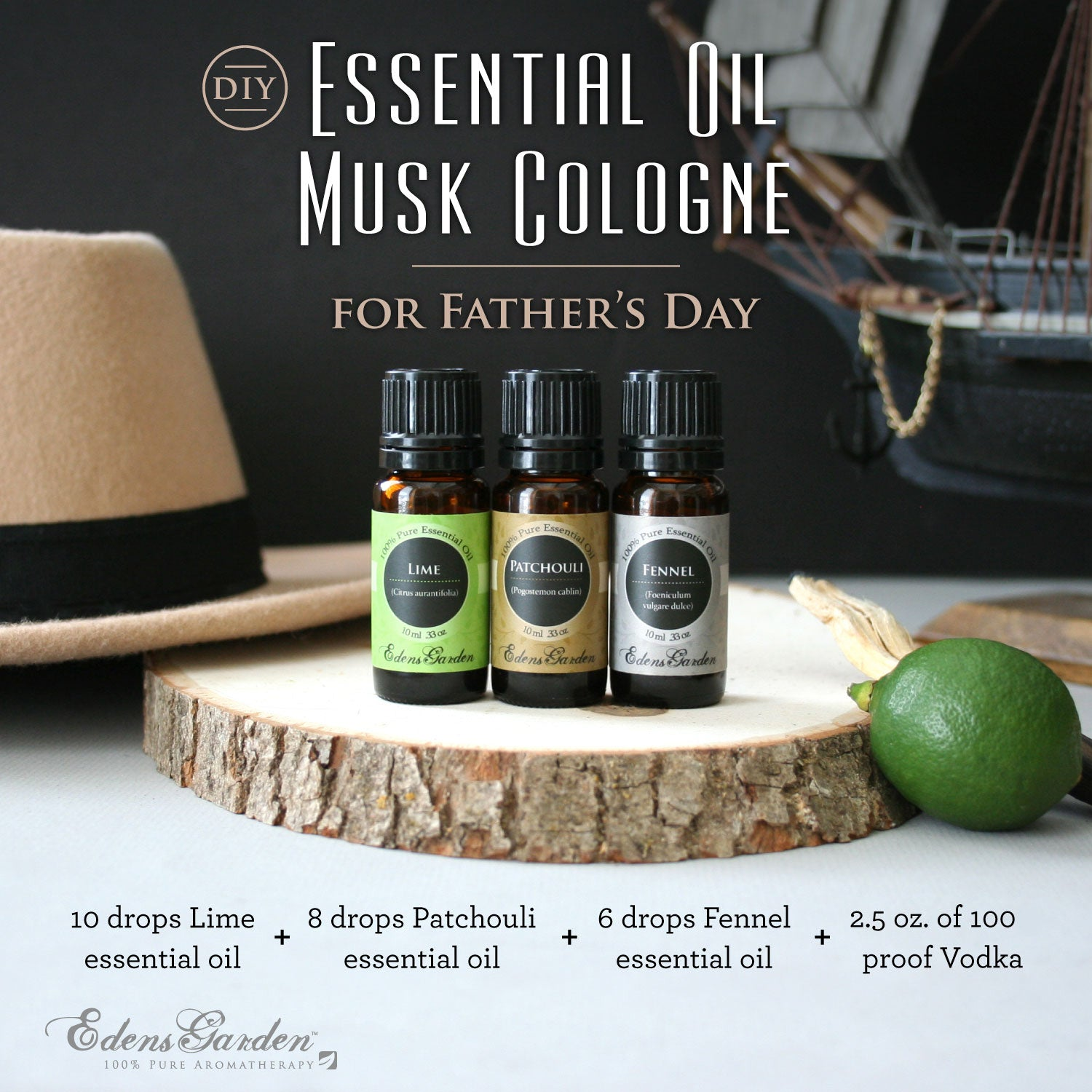 Easy diy essential oil cologne for father 39 s day edens garden - Are edens garden essential oils ingestible ...