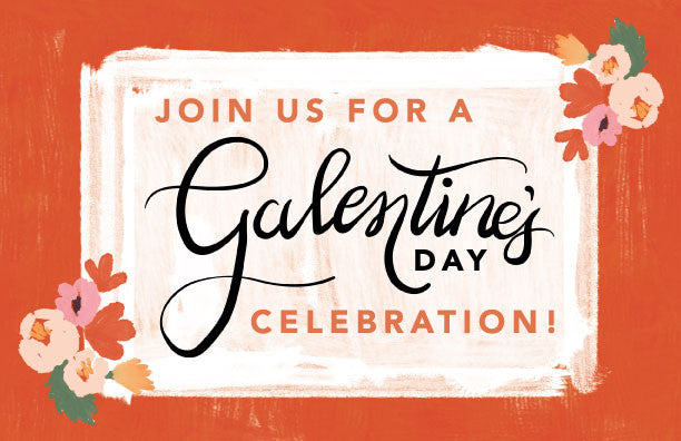 Galentine's day invite