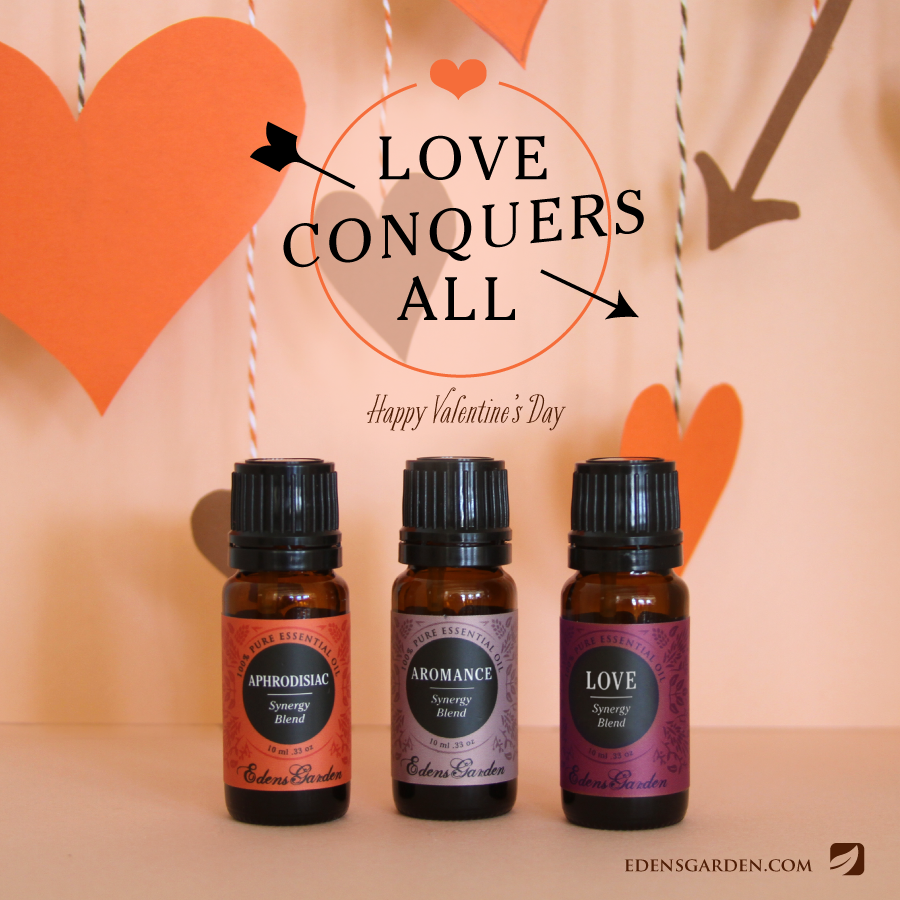 Valentines Day Edens Garden essential oils