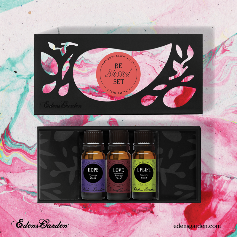 Be blessed essential oil gift set by Edens Garden