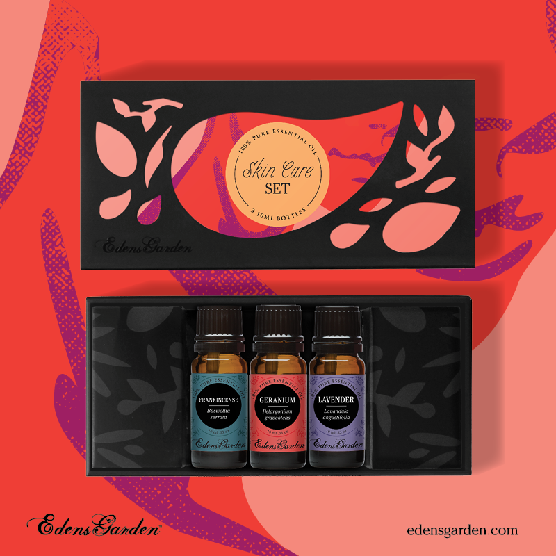 Skin Care essential oil gift set by Edens Garden