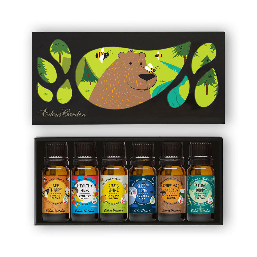 OK For Kids essential oil synergy blends set by Edens Garden