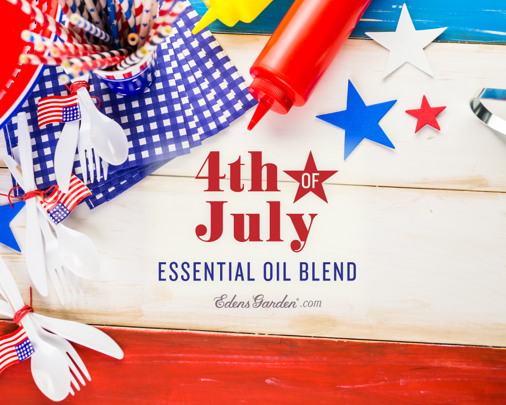 Red White And Blue Essential Oil Blend For July 4th