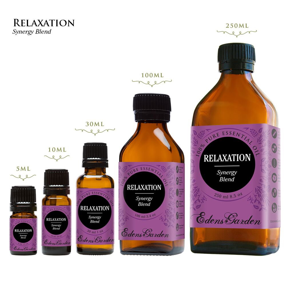 Celebrate national relaxation day with Edens Garden Relaxation synergy blend