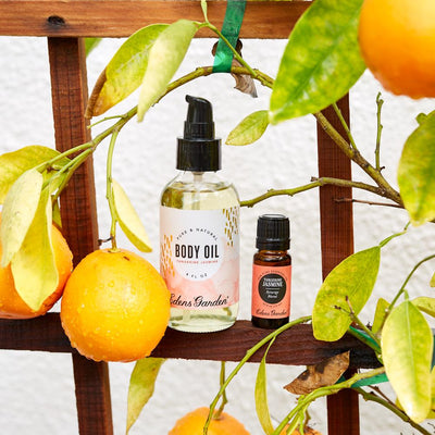 Tangerine Jasmine Body Oil - 4 oz