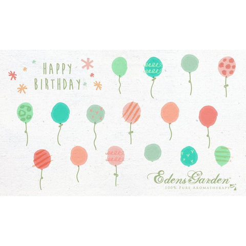 Edens Garden Happy Birthday e-Gift Card