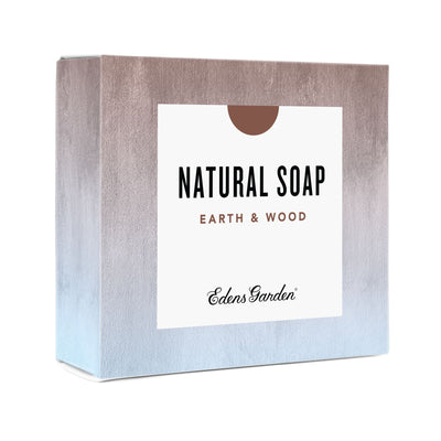 Earth & Wood essential oil bar soap for sensitive skin by Edens Garden