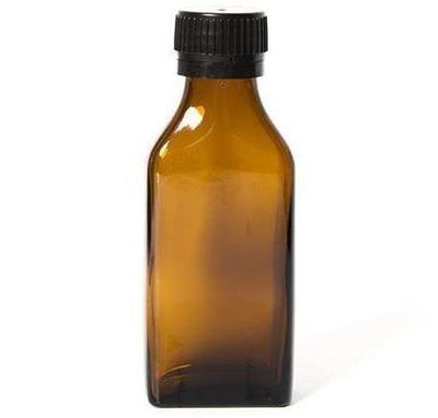 Amber Glass Bottles - 100 ml