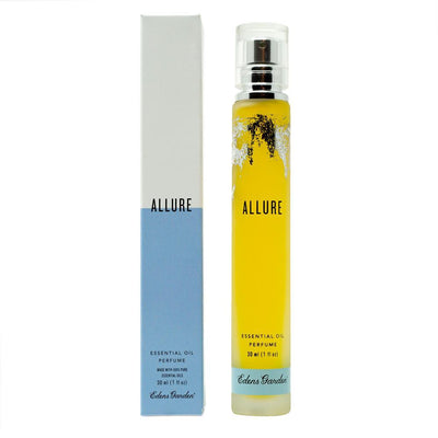 Allure essential oil blend natural perfume with box by Edens Garden