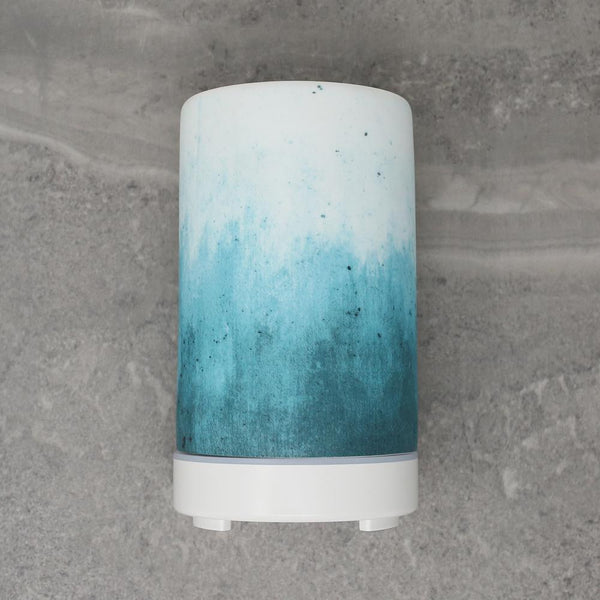 Ceramic Ultrasonic Diffuser - Blue Ombre