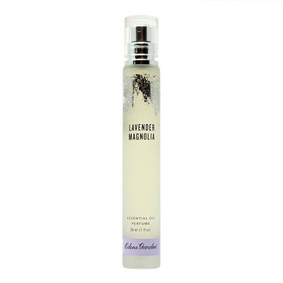 Lavender Magnolia natural essential oil perfume with notes of Bergamot, Magnolia and Lavender by Edens Garden