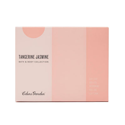 Tangerine Jasmine essential oil product set for bath and body by Edens Garden