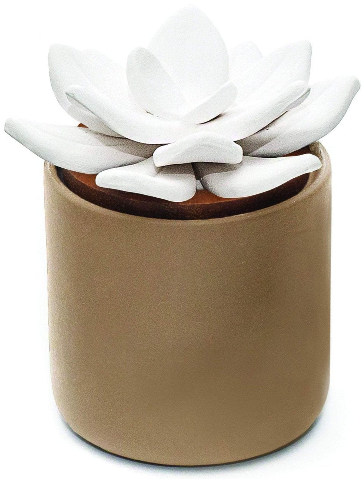 Ceramic Bloom Diffuser - Taupe