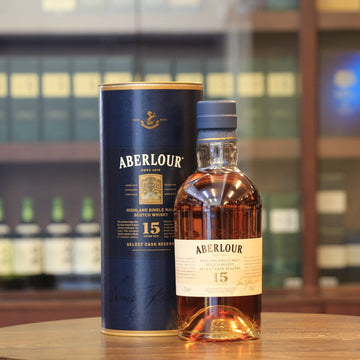 Aberlour 15 Years Old Select Cask Reserve Single Malt Scotch Whisky