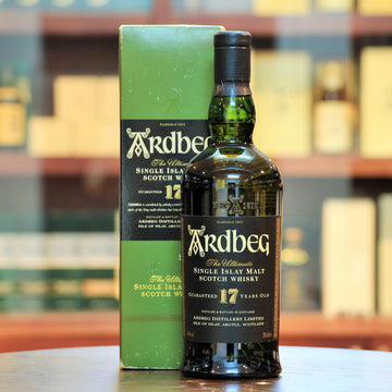 Ardbeg 17 Years (Discontinued Old Bottling) Single Malt Scotch Whisky